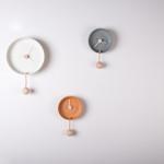 FEDERICA BUBANITotidè ceramica matt e colorata, legno di faggio, corda, 2014.